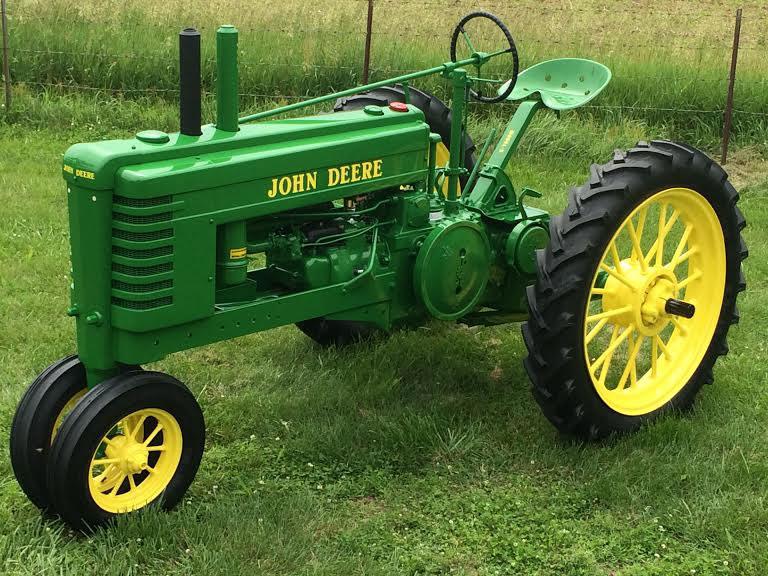 John Deere B Hood : Agri crafts antique tractor restoration